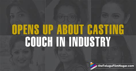 casting couch in telugu film industry actresses openly confess about casting couch in film