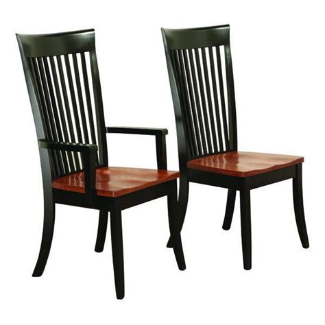 black kitchen chairs seats amish fresno shaker dining room chair 340 aud liked on