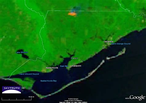 florida wildfires in florida old fires out new fires burning skytruth