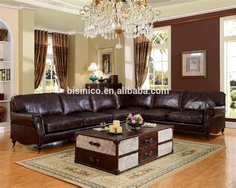 durable living room furniture bisini luxurious genuine leather living room sofa durable living room furniture moq 1 set view