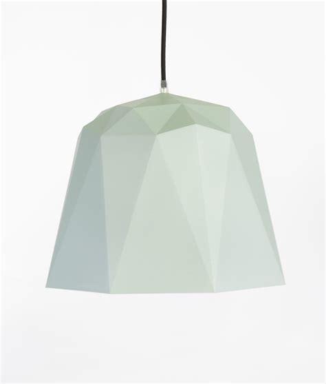 Geometric Pendant Light Osaka Grey Texture Geometric Pendant Lights