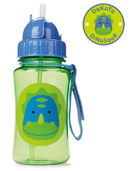 Skiphop Vapur Water Bottle zoo straw bottle skiphop
