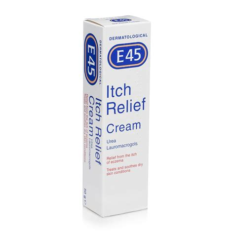 itching medicine e45 itch relief 50g pharmacy uk