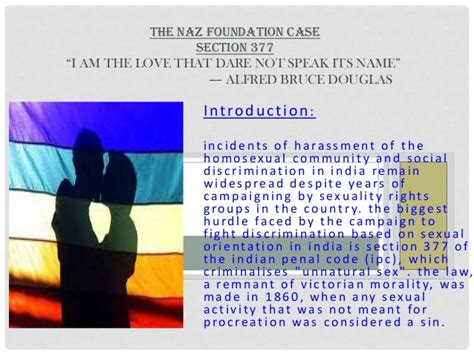 what is section 377 in india the naz foundation case section 377 interlinking and