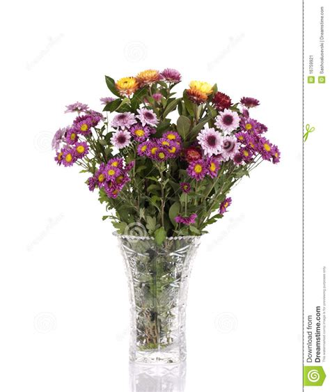 Bouquet Of Flowers In A Vase by Bouquet Of Flowers In A Vase Stock Image Image 16759921