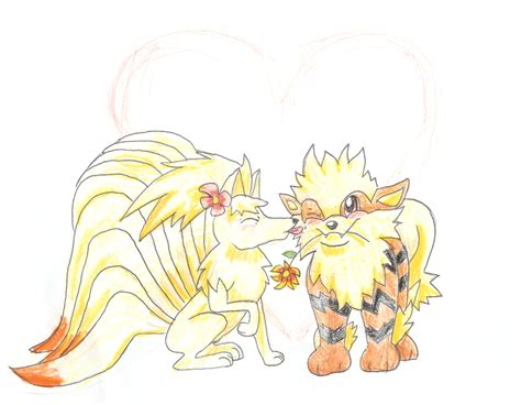 ninetails lines by sulfura on deviantart arcanine and ninetails by cgskillz on deviantart