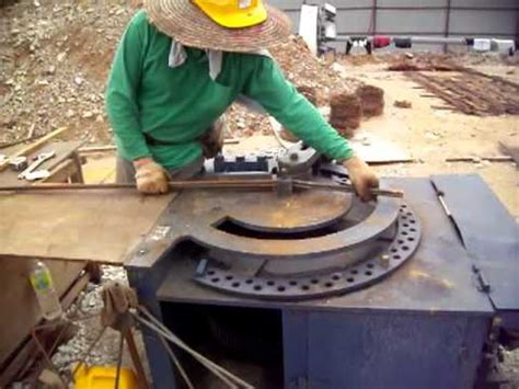 Mesin Besi Bar Bending Ben35e kerja kerja pembengkokan besi