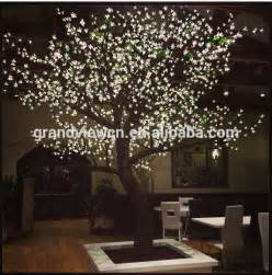 tree shop lights white artificial nature led cherry blossom tree light for