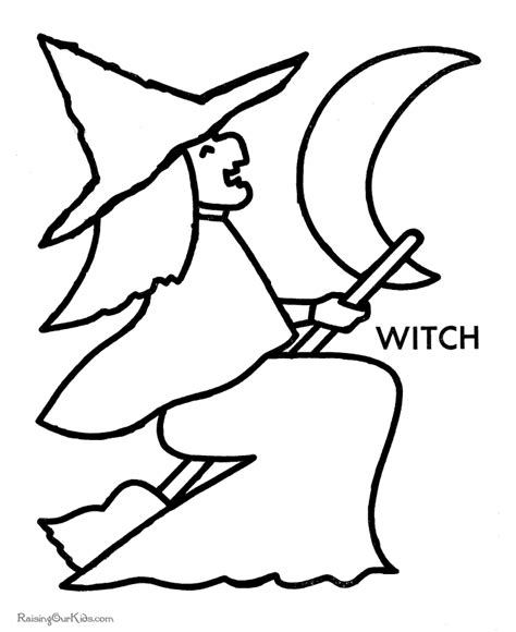 preschool halloween coloring pictures 008