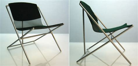folding chair design history designboom competition 100 folding chairs
