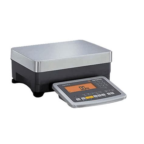industrial bench scales sartorius signum industrial bench scale 3kg x 0 1 g 6 button keypad from cole parmer