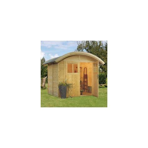 abri de jardin 4 m2 abri de jardin en bois massif 19 mm de 4 m2 toit demi lune avec plancher plantes et jardins