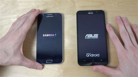samsung galaxy   asus zenfone    faster  youtube