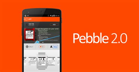 pebble apps for android pebble 2 0 for android finally available with dedicated appstore and more redmond pie