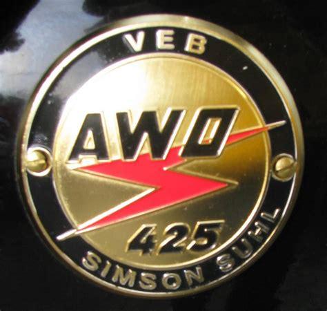 Awo Motorrad Logo by Bilder Manfred Hellmann 3 Fahrzeugbilder De