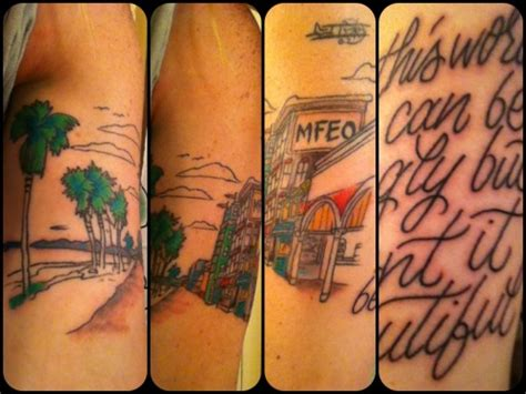 andrew mcmahon tattoos there there on