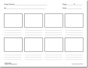 Animation Storyboard Template by 36 Free Storyboard Templates For Basic Visual And