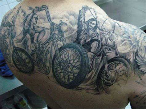 biker sleeve tattoo designs counter biker tattoos