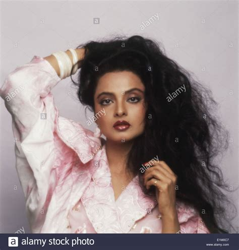 film actress rekha photos portrait of indian film actress rekha no model release