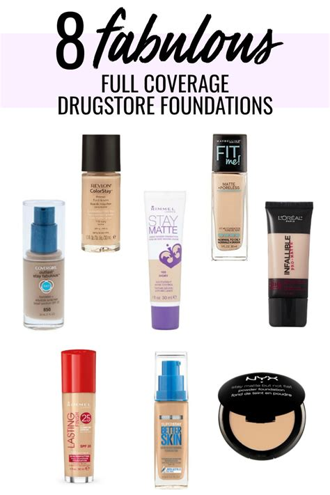 what is the best full coverage foundation for 2015 8 drugstore foundations best drugstore foundation meg