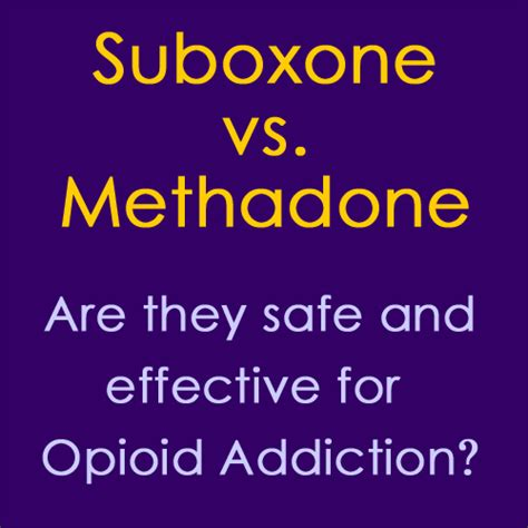 Methadone Vs Suboxone For Detox by Suboxone Vs Methadone For Opioid Addiction Inspire Malibu