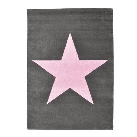 teppich kinderzimmer micasa canals teppich kinderteppich dunkelgrau mit rosa