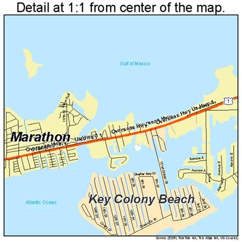 marathon key florida map marathon florida map