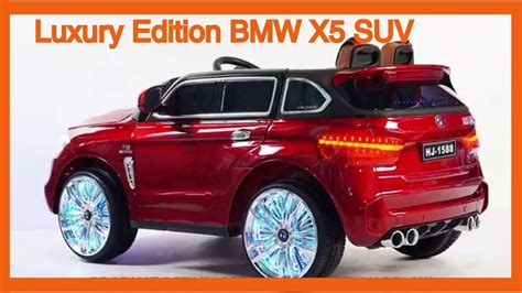 bmw x5 electric car luxury edition bmw x5 suv style 12v power wheels ride