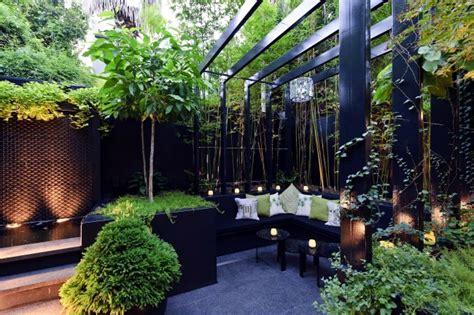 modern landscape architecture   garden  exotic