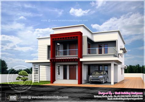 flat roof luxury home design kerala floor plans building luxury flat roof house design kerala home design and