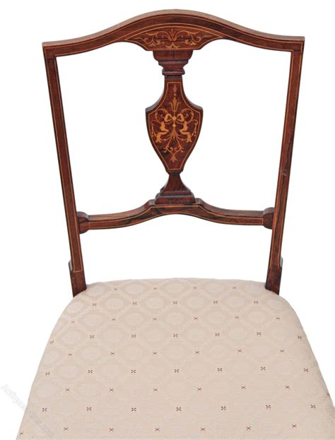 antique bedroom chair victorian inlaid rosewood bedroom chair dining antiques
