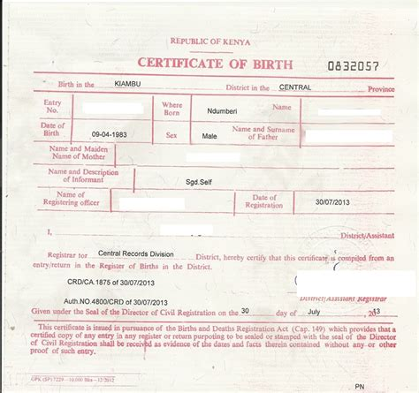 sle of birth certificate birth certificate correction sle letter 28 images
