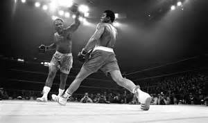 And Ali Joe Frazier Beats Muhammad Ali In Fight Of Century The