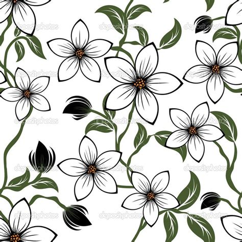 simple drawing patterns flower patterns to draw www imgkid com the image kid