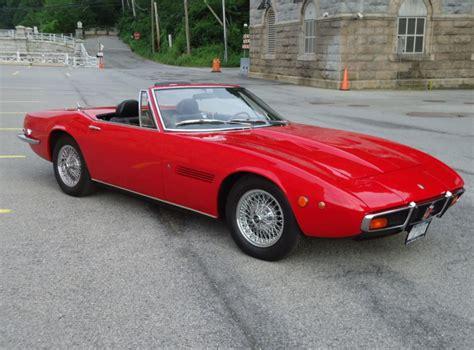 Classic Maserati For Sale 1971 Maserati Ghibli Spyder 4 7 Classic Italian Cars For