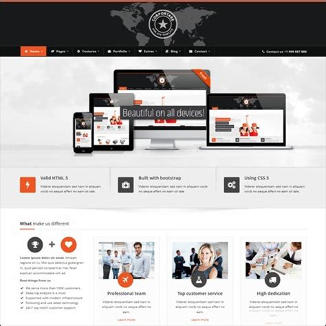 40 High Quality Business Website Templates Products Website Templates