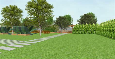 3d garden designs for clear landscape visualisation thai