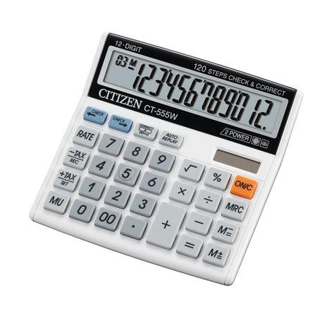 Diskon Citizen Ct 500js Calculator semi desktop series calculators citizen systems japan co ltd