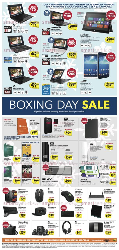 best buy canada best buy canada boxing day flyer 2013