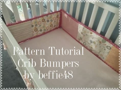 Diy Crib Bumpers by Crib Bumper Pattern Tutorial Diy Easy To Make Pdf