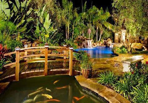 koi pond bridge 15 whimsical wooden garden bridges home design lover