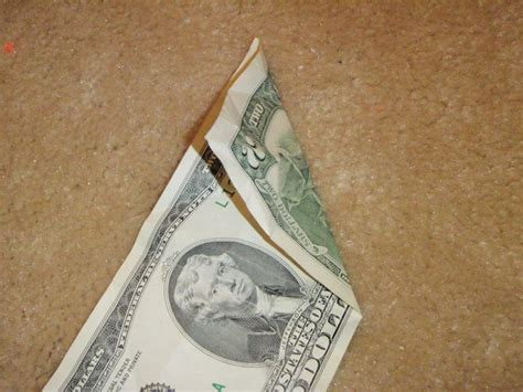 Step By Step Dollar Bill Origami - dollar bill origami