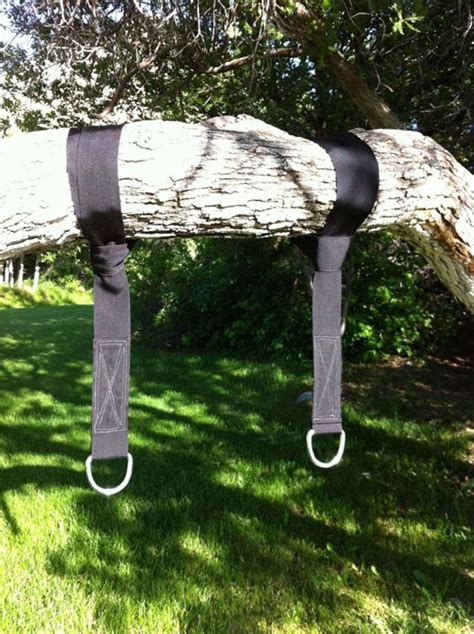 how to hang a swing without a tree tree swing hanging kit yard pinterest