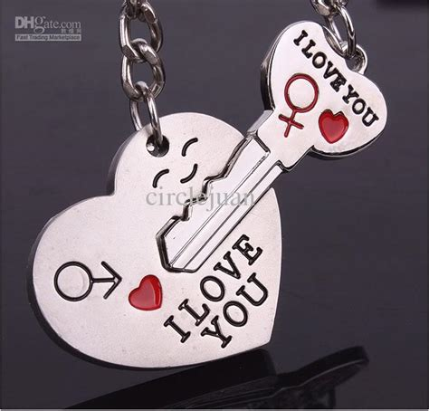 personalized couple gifts alloy i love you heart lover