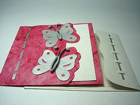Greeting Cards Handmade - butterfly handmade greeting card anand creation office