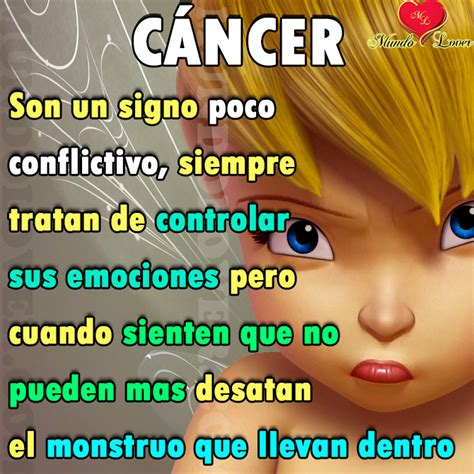 como es el signo cancer como se enoja cancer mundo lover