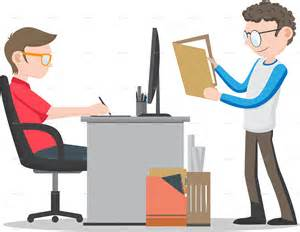 Fancy Computer Desks office workers on desk by nael005 graphicriver