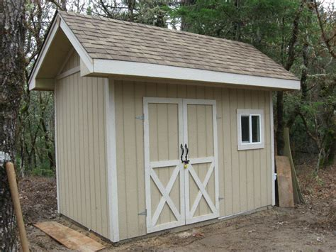 shed completed at lot 16 paradise vista in grants pass