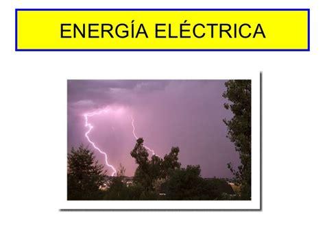 imagenes sensoriales con sus ejemplos energia electrica