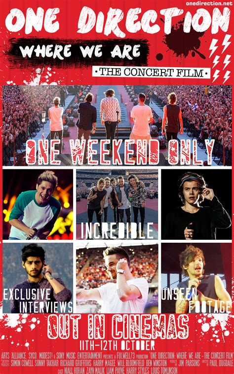 film dokumenter one direction where we are one direction where we are 2014 moviezine